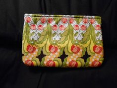 Large Handmade Coin Purse wallet change makeup case by MadkDesigns, $6.00