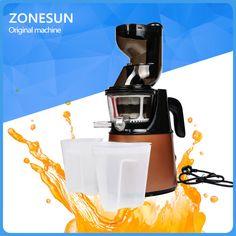 ZONESUN  2nd Generation Slow Juicer Fruit Vegetable Citrus Low Speed Juice Extractor #Affiliate
