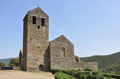 Priorat de Serrabona (Serrabone) Santa Maria, Romanesque, Pilgrim, Htm, France, Mountains, Building, Places, Travel