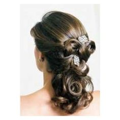 Beauty and the Beast wedding hair, maybe with flowers instead.  | followpics.co