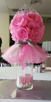16 Centros de mesa e ideas de decoración para fiesta de 15 años ~ Solountip.com