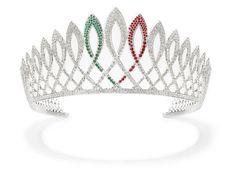 La corona di Miss Italia nel Mondo 2012 La nuova corona di Miss Italia nel Mondo raffigura la bellezza e l'eleganza dell'italianità: i suoi 1679 diama...