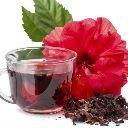 O chá de hibisco ajuda a emagrecer,reduz a gordura do fígado,da barriga e quadris e é diurético.