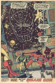 Jim Starlin, Captain Marvel
