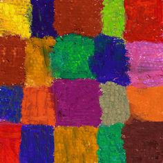 Colorful Chess 2 Painting Print on Wrapped Canvas