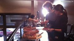 Buffet provided by Patxi's Pizza San Francisco for guest at our live streaming event. Thank you Patxi's!