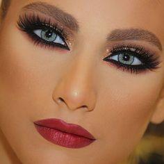 a classic - closeup  #samerkhouzami #maisonsamerkhouzami #makeupartist #beauty #transformation #skteam #creative #artist #style #glam