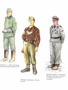 Ww2 Uniforms, German Uniforms, Germany Ww2, Wwii, Ss, Army, Baseball Cards, Sports, Poster