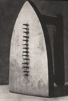 The Gift by Man Ray, 1921. This piece was made in the afternoon on the opening…