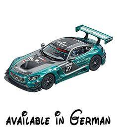 B06XK9S275 : Carrera 20030783 Digital 132 Mercedes-AMG GT3 Lechner Racing No.27. Slotcar. Frontlicht und Rück- / Bremslicht. originalgetreue Verarbeitung. individuell codierbar digital steuerbar und bietet echten Fahrspaß