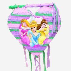 #Princes #beauty #girls #pinata #birthdaypinata