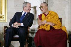 The Dalai Lama Loves George W. Bush