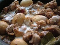 Resep Gudeg Nangka Muda Indonesian Food, Indonesian Recipes, Food And Drink, Snacks, Meat, Chicken, Cake, Foods, Indian
