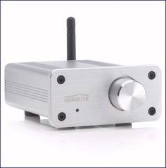 De BoomBoom 460 is een Bluetooth AptX ontvanger met digitale versterker, ondergebracht in een prachtige, hoogwaardige aluminium behuizing. De versterker levert een vermogen van 2 x 20 WRMS, genoeg voor de meest kritische toepassingen. U kunt zowel draadloos via Bluetooth als bedraad via een standaard AUX-audiokabel audiobronnen aansluiten en wisselen zo vaak als u wilt.  http://www.vego.nl/marmitek_multimedia/boomboom-460/boomboom-460.htm