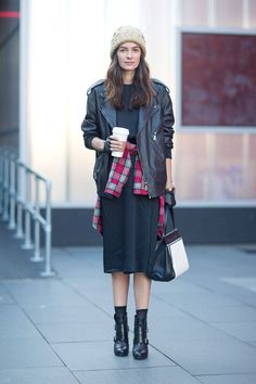 Leila Yavari Street Style London Fashion Week Street Fall 2014 - London Street Style - Harper's BAZAAR