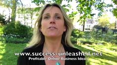 """Profitable Online Business Ideas Making A Lot Of Money. After readig Robert Kyosaki's """"Rich dad poor dad"""" I learned how to let money work for me. And you can learn the same! Welcome in my video, ~Muriël"""