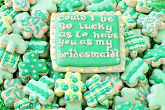St. Patricks Day clover Cookies, St. Patrick's Day baked goods, St. Patrick's Day food ideas