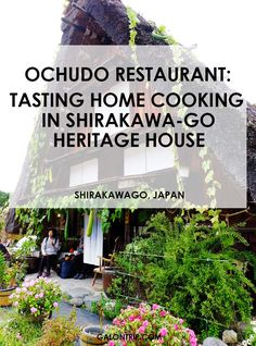 One of the most recommended restaurants in a UNESCO Heritage Site village in Shirakawa-go, Japan. Lovely gassho-zukuri house, great food and hospitality from the owners! Shirakawa Go, Best Street Food, Restaurant Guide, Heritage Site, Foodie Travel, Hospitality, Great Recipes, Traveling By Yourself, Restaurants
