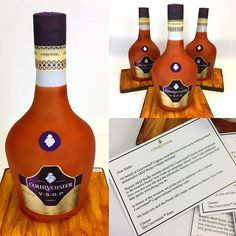 3D VSOP Courvoisier cake   It was an honor to create these custom cakes for COURVOISIER VSOP. Happy Birthday A$AP Rocky!!!! Delivered 5 cakes to XXL, GQ, Bon Appetit, 105.1, and Complex. #happybirthday @asaprocky @courvoisierusa is #celebrating @asaprocky 's #birthday with not one but five (5) #cognac infused #cakes by @cakeinacupny #honoryourcode. Great collaboration with #coynepr and @artisanconfections_by_ana #allcak... 3d Cakes, Custom Cakes, Hot Sauce Bottles, Bon Appetit, Happy Birthday, Photo And Video, Drinks, Gq, Collaboration