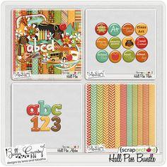 Hall Pass Bundle by Bella Gypsy Designs
