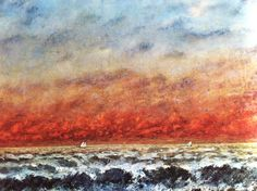 Seascape Gustave Courbet 1874