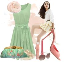 """""""pastel and wood"""" by lvelishko on Polyvore"""