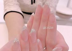 Semi-permanent varnish, false nails, patches: which manicure to choose? - My Nails Cute Nails, Pretty Nails, Gel Nails, Nail Polish, Nail Nail, Coffin Nails, Acryl Nails, Korean Nail Art, Bride Nails