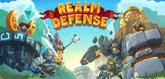 Realm Defense Hero Legends TD APK (unlimited money) for Android Tower Games, Defense Games, Death Knight, Best Android Games, Tower Defense, Goblin King, Fire Powers, Strategy Games, Force Of Evil
