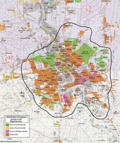 baghdad district neighborhoods map 2
