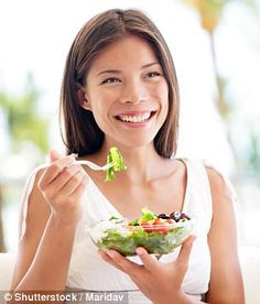 'Women at this age should be eating well and exercising a lot as it helps skincare products absorb better and keeps the blood flowing,' Ms Holohan said