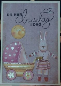 Birthday card for children.