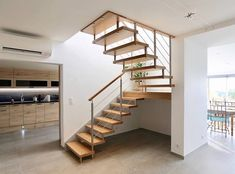 Nice Cannes, Escalier Design, Antibes, Stairs, Home Decor, Modern Staircase, Modernism, Home, Harp