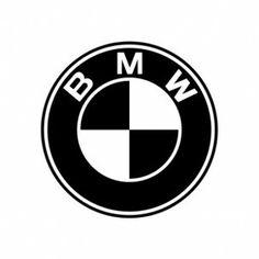 Image for classic bmw logo black and white vintage for Assurance garage mort