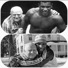 Cus D'Amato and Mike Tyson