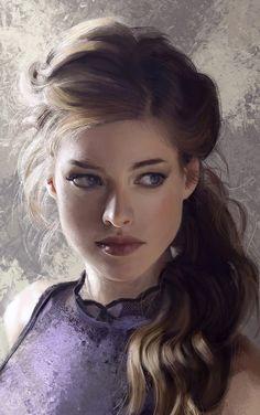 The Beautiful Portrait Art of Mandy Jurgens - Digital Art Mix