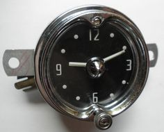 1952-1953 Mercury Clock - Serviced and Working with a 30 Day Guarantee + FREE Shipping!!! - $89.88 #1952to1953 #Mercury #Clock #Custom #Monterey #ClassicCar #CollectorCar #VintageCar