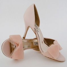 Pale Pink Wedding Shoes | Pale pink weddings, Pink wedding shoes and ...