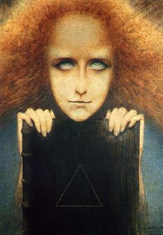 Jean Delville. A belgian symbolist painter. I really love this painting.