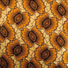 Senegalese wax fabrics / Flowers