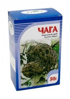 Čaga - Ryšavec šikmý drvina huby na čaj 50g