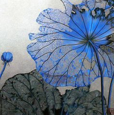 amazing hyper realistic contemporary textile art inspired by the shape and form of nature Zhou XueQing Embroidery Art Center in Suzhou, China