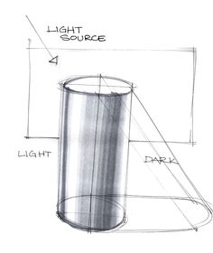 cylinder shading - Szukaj w Google