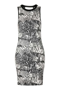 Tiger Print Mini Dress - Topshop