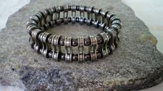 Men's Bicycle Jewelry Bicycle Chain Link by Winterwomandesigns...
