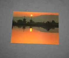 Vintage Original JAL Yakushiji Temple Japan Postcard Japan Air Lines 1970's Postcards Japan Airlines Post Card Japanese Printed in Japan by TreasureGalleria on Etsy