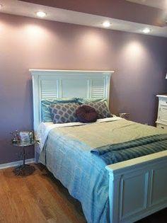 Benjamin moore iced mauve Yes! My new bedroom color… … - Modern Purple Bedroom Paint, Mauve Bedroom, Girls Bedroom Colors, Bedroom Wall Colors, Dream Bedroom, Basement Paint Colors, Big Girl Rooms, Reno, Trendy Bedroom