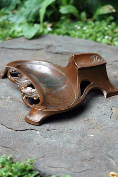 Vintage Art Nouveau Inkwell and Pen Tray