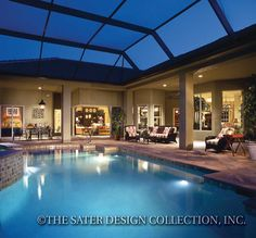 """The Sater Design Collection's Luxury Farmhouse """"Rosemary Bay (Plan #6781). www.saterdesign.com"""