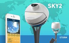 ユーザーが多いほど正確な天気を計測できる天候カメラ&風速計「BloomSky SKY2/STORM」 - GIGAZINE