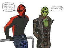 Thane Krios, Mass Effect